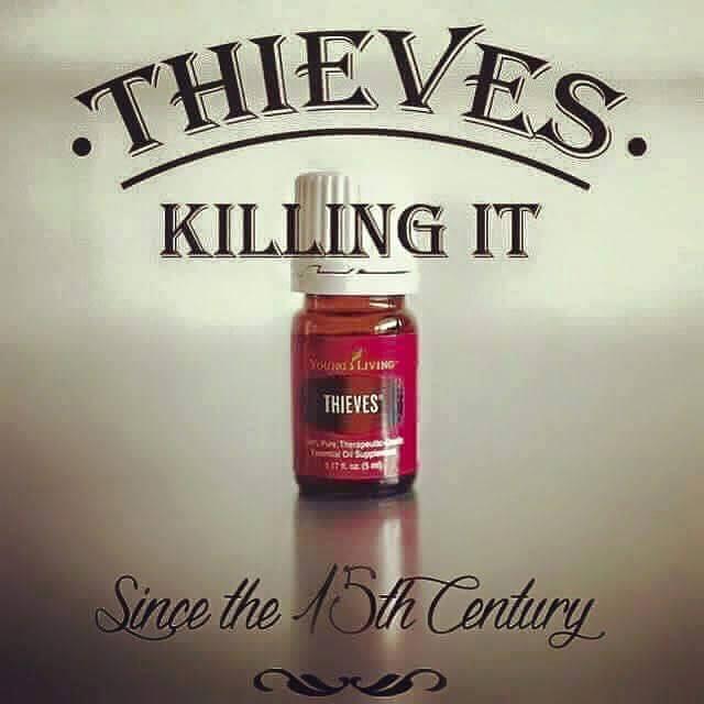 De Thieves lijn verzorgingsproducten en schoonmaakproducten geïnspireerd op de zeer krachtige eigenschappen van de samengestelde olie Thieves